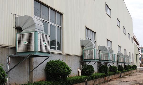 ZLG理工厂房降温环保空调
