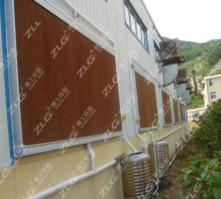 厂房水帘墙降温