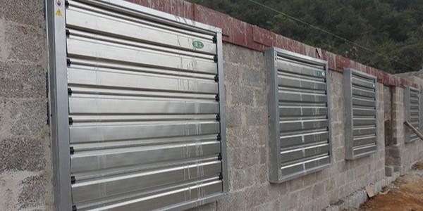 养殖厂房通风降温设备用[ZLG理工]风机水帘环境好、空气好