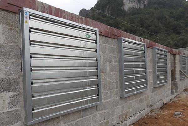养殖厂房通风降温设备
