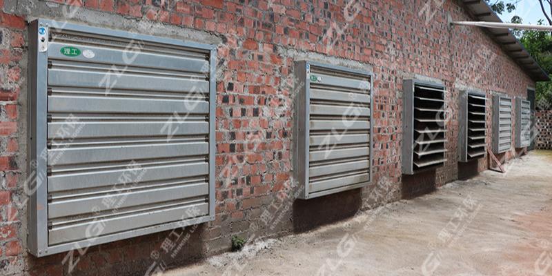 养殖场负压风机通风降温,水帘负压风机批发