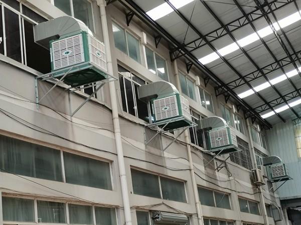 南宁好友缘月饼厂使用[ZLG理工]冷风机降温厂房工程案例