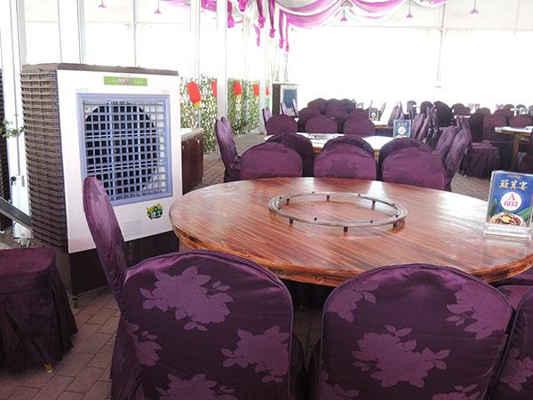 饭店湿帘冷风机