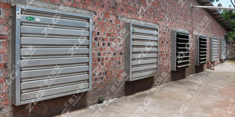 养殖场水帘负压风机通风降温,广西水帘批发