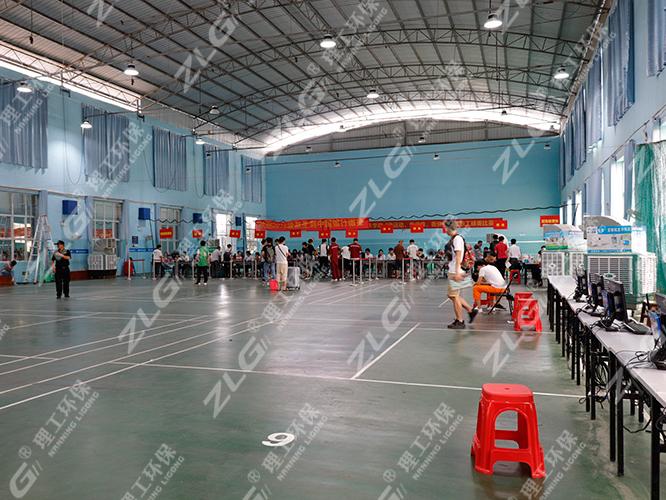 广西电力职业技术学院使用理工环保空调