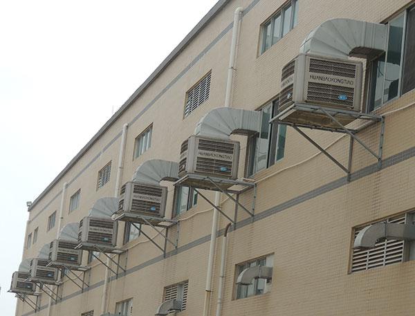 湿帘冷风机的降温一般在5-8℃