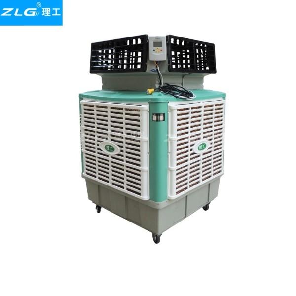 工业移动冷风机HBCS180连体水箱1.1kw电动四面出风