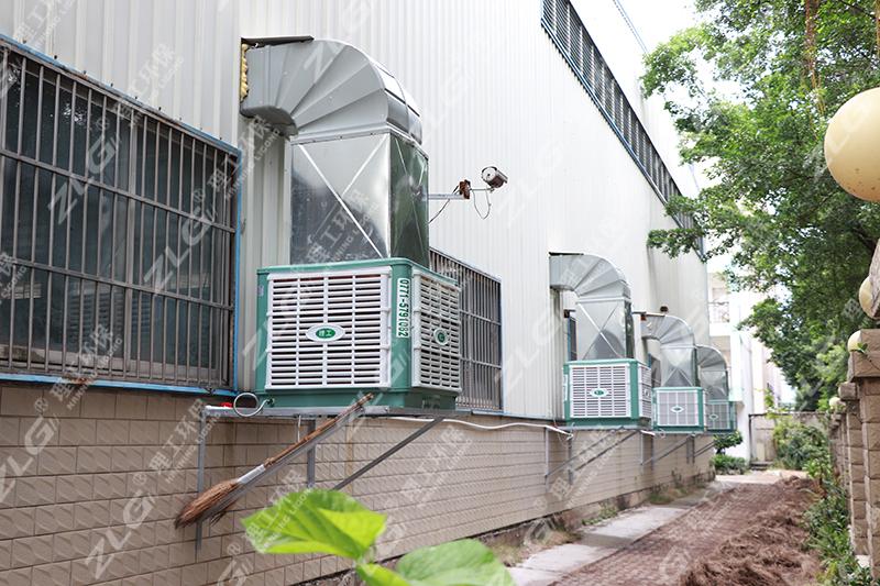 组装车间安装环保空调
