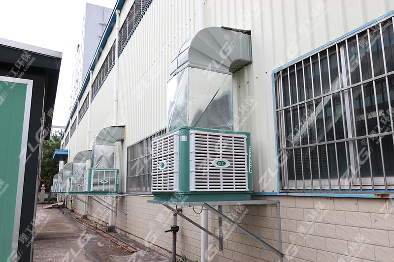 环保空调安装案例2