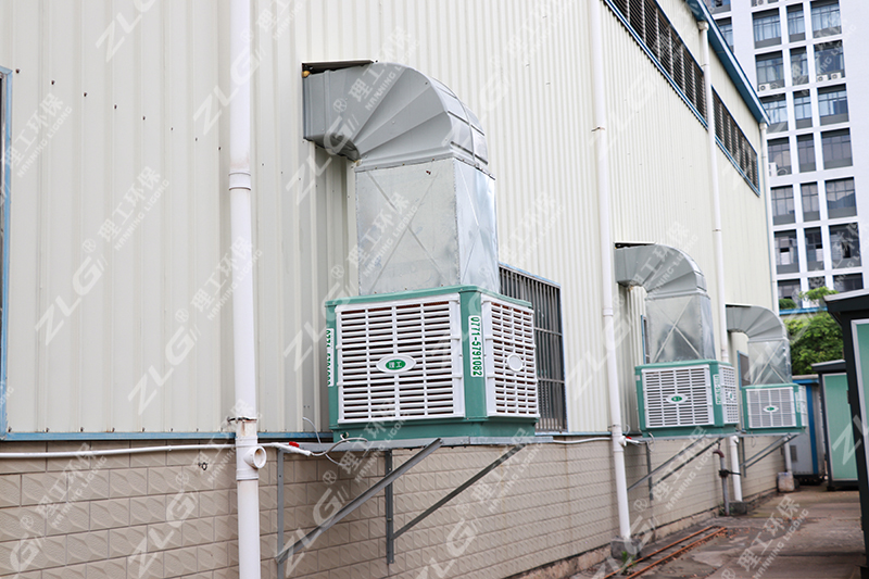 环保空调安装案例3