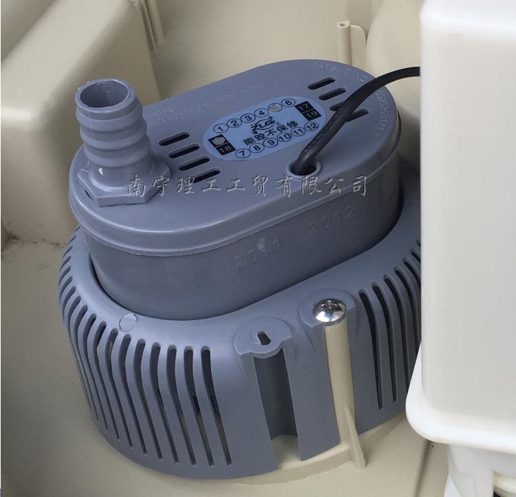 环保空调潜水泵实拍图