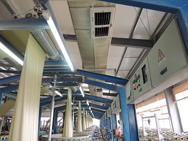 工厂车间水冷空调管道
