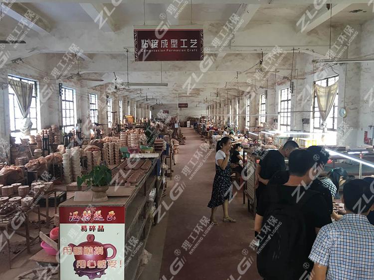 坭兴陶生产制作车间