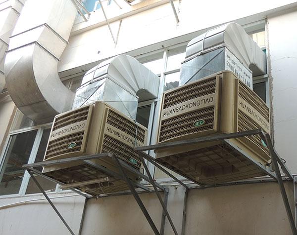 工业冷风机水空调可以商店用吗?
