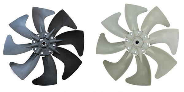 环保空调专用八叶风叶,原装冷风机配件批发