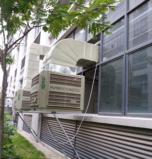 南宁服装厂厂房降温环保空调