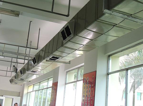 ZLG理工厂房降温管道