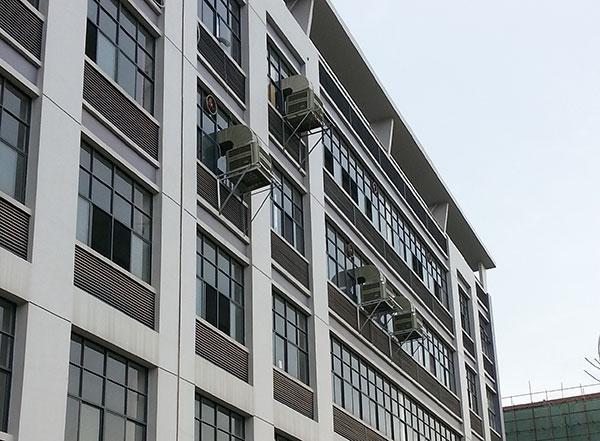 商铺安装工业冷风机