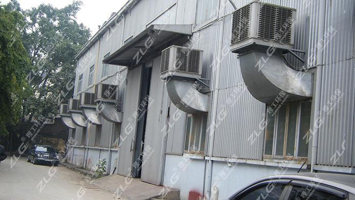精密五金电子厂安装理工环保空调案例