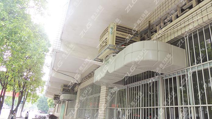 理工环保空调为来宾制衣厂定制降温工程