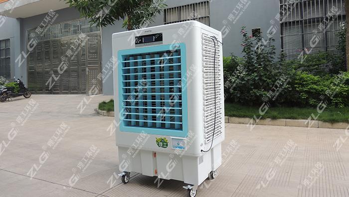 理工移动式环保空调为柳州某体育馆通风降温
