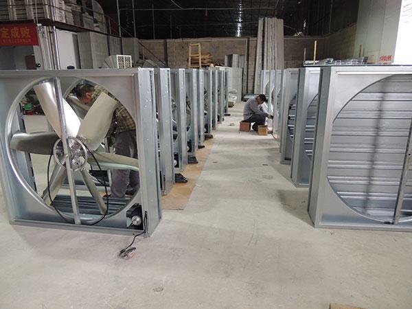 负压风机厂房降温设备