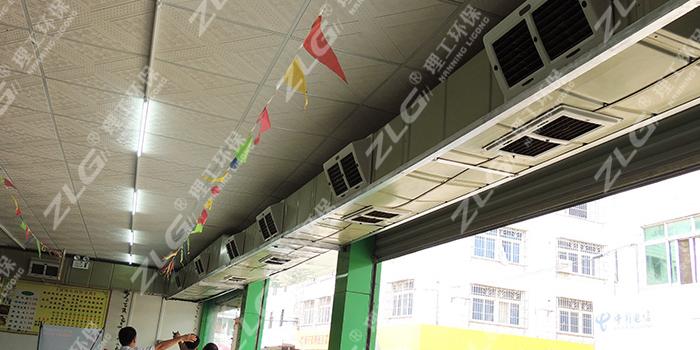 超市通风降温冷风机HB180,南宁环保空调批发