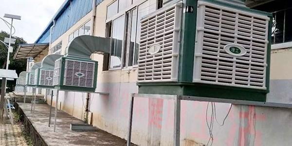 夏季高温铁皮厂房仓库降温用什么设备呢?欢迎来电咨询[ZLG理工]