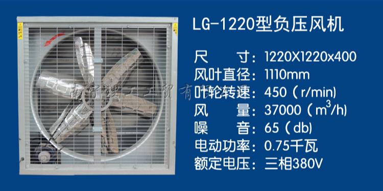 厂房通风换气负压排风扇,广西负压风机