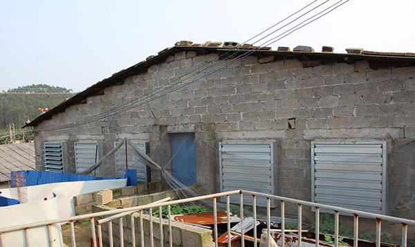 养殖场水帘负压风机