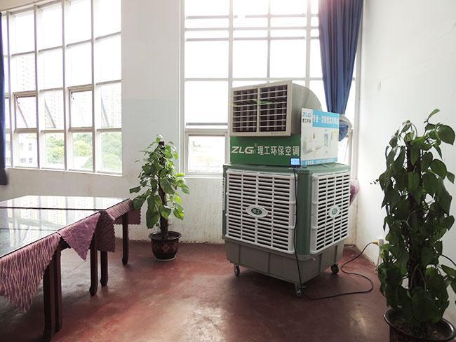 满足工业场所的局部降温需求