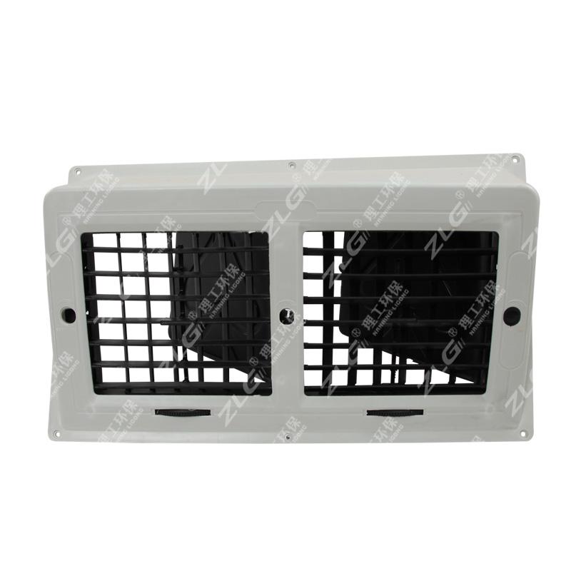 冷风机管道双联侧出风口水冷空调风管塑料摆页环保空调配件