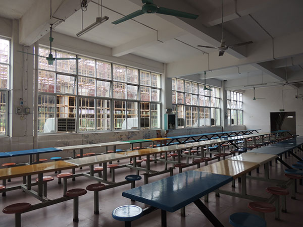 ZLG理工学校食堂冷风机