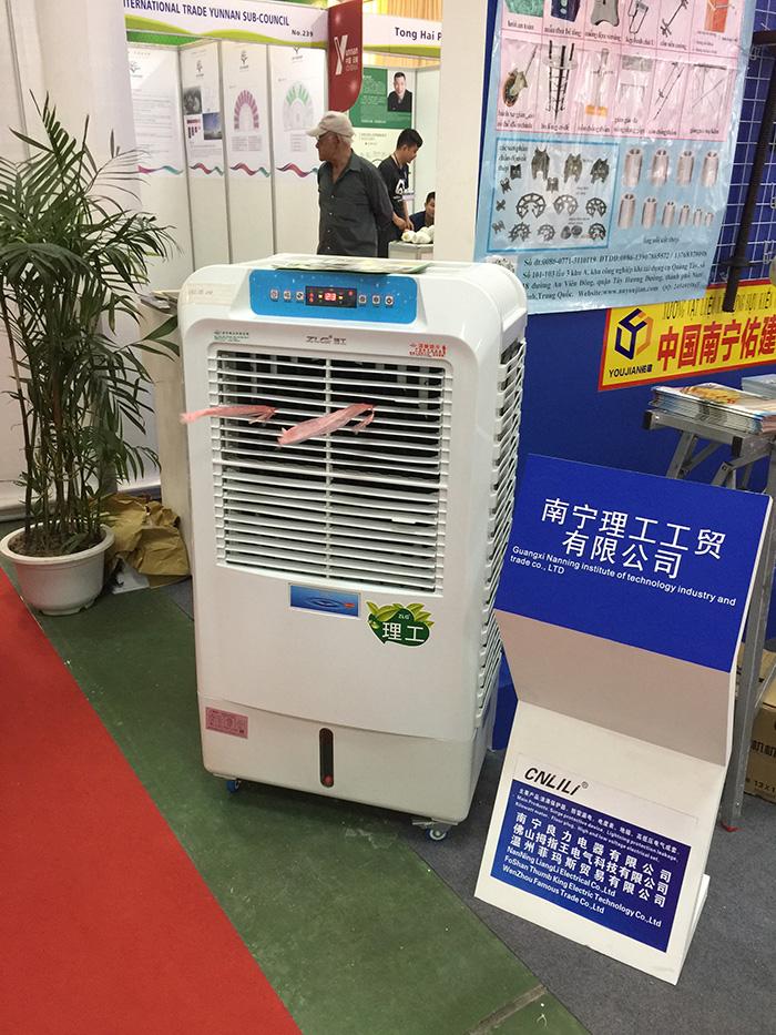 南宁理工环保空调在越南博览会现场