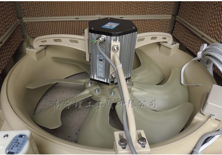 环保空调专用电机安装图