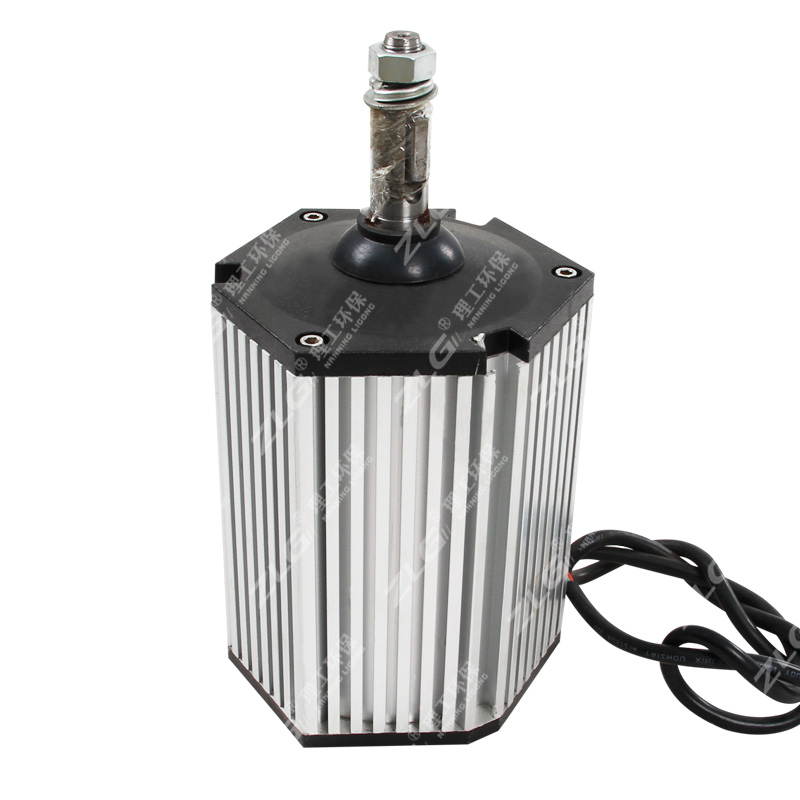 冷风机六角全铜电机环保空调铝壳电机24轴水冷空调配件