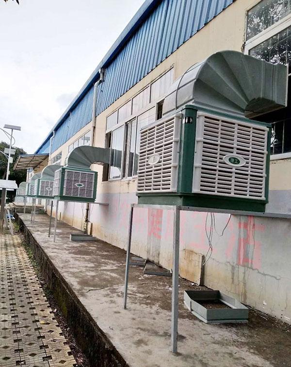 蒸发式冷水机组及冷却塔