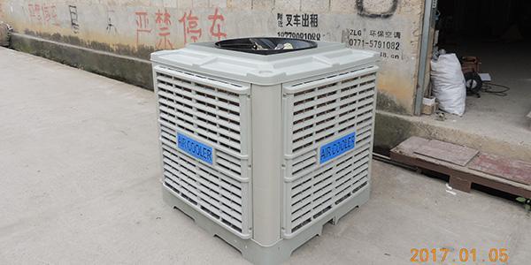 浅谈理工蒸发式冷风机的工作原理