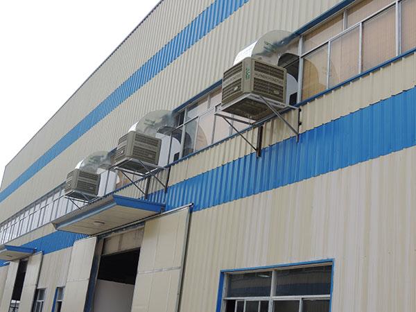 工业水冷风机弯头厂家-带你了解工业水冷风机的降温优势[ZLG理工]