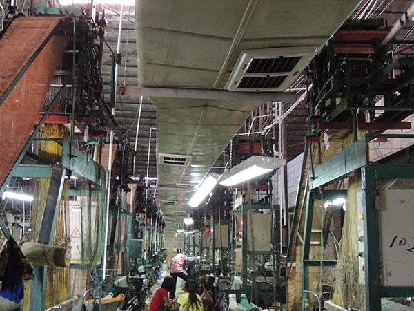 车间厂房降温设备管道