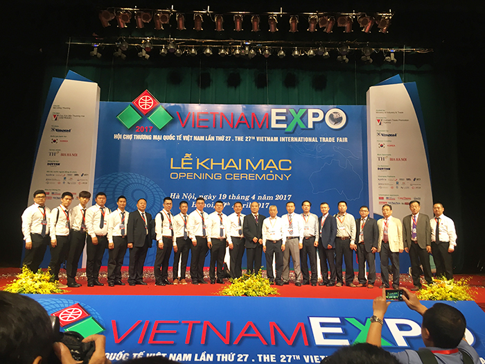 理工参加越南五金机电产品采购对接会