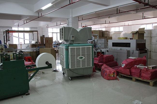 大型工业用移动冷风机生产商ZLG理工