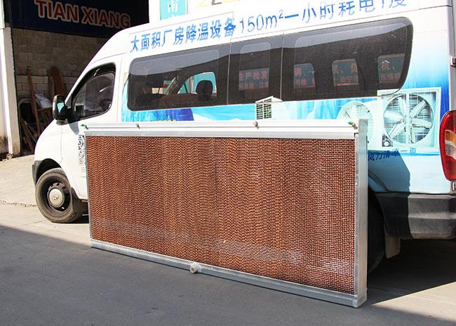 降温水帘纸如何控制车间环境