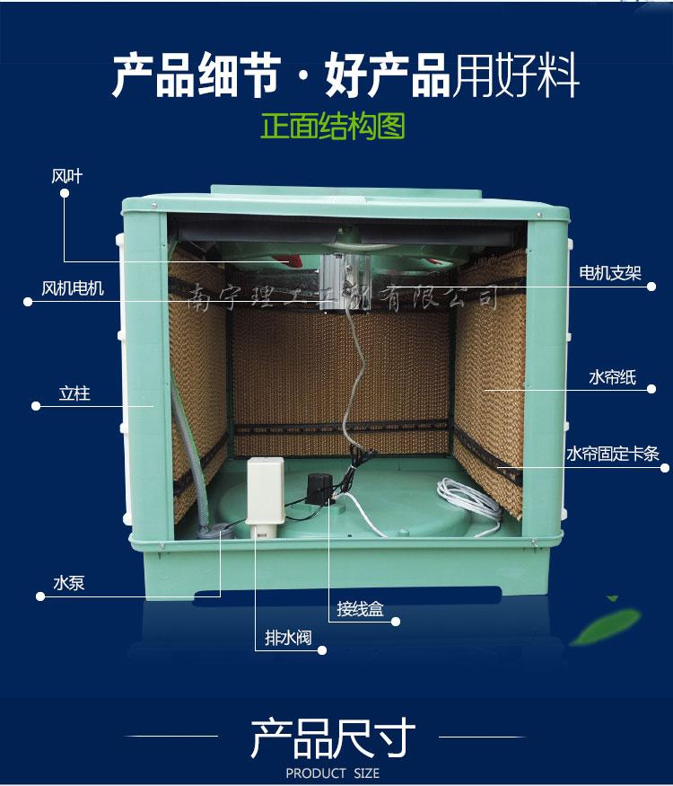 工业环保空调结构
