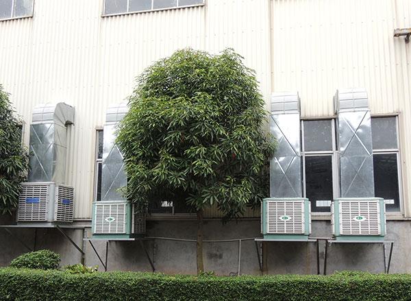 蒸发式冷却空调发电厂的应用案例