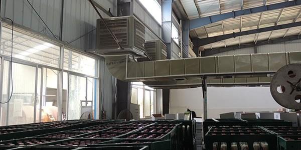 ZLG理工通风降温设备一分钟就可以解决厂房降温,效果惊呆了!