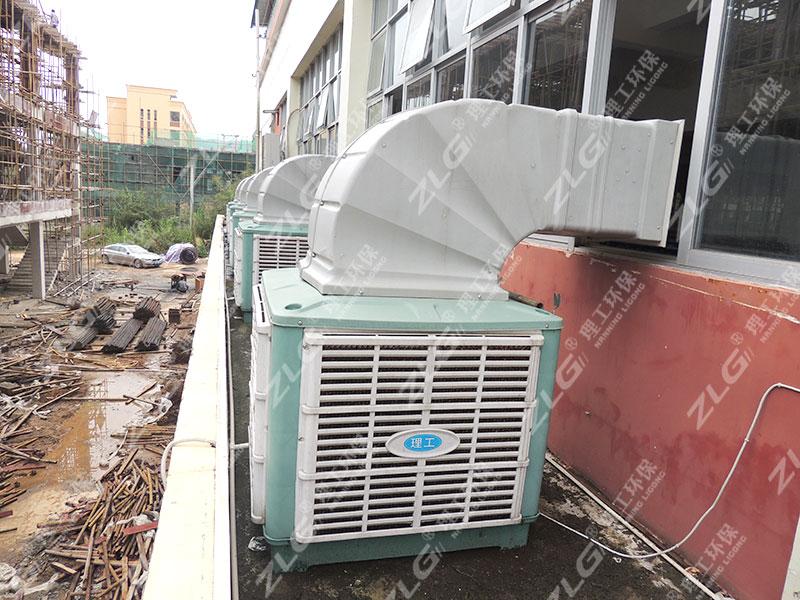 理工环保空调安装案例
