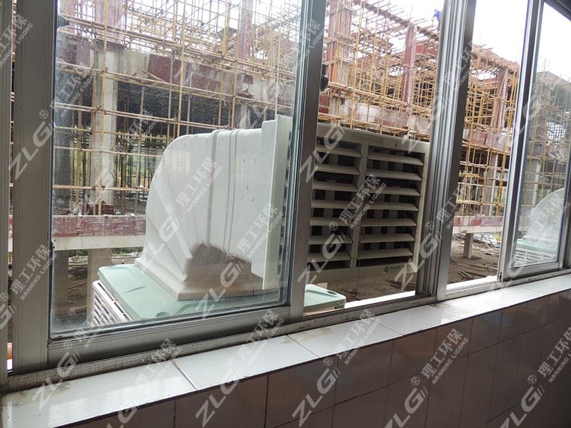 食堂冷风机安装案例