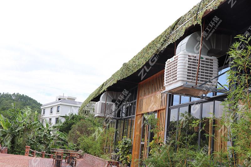 餐厅安装理工环保空调