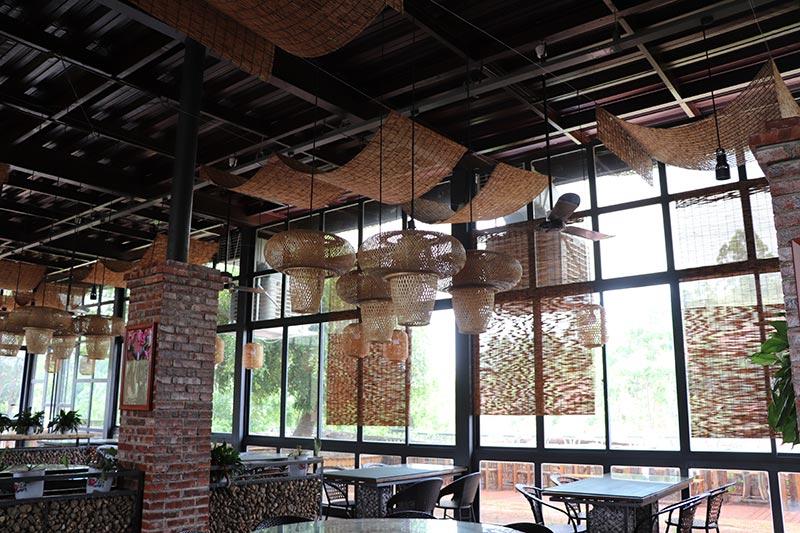 餐厅安装理工冷风机